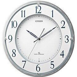 CITIZEN 電波掛け時計 「スリーウェイブ M823」 4MY823-003[4MY823003]