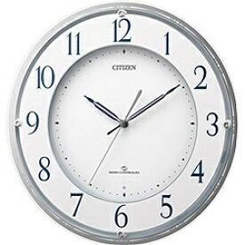 シチズン CITIZEN 電波掛け時計 「スリーウェイブ M823」 4MY823-003[4MY823003]