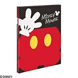 ナカバヤシ Nakabayashi ディズニー フリーアルバム 100年台紙(黒) A4サイズ パーツミッキー