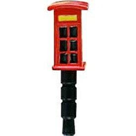 ハシートップイン Hashy 〔イヤホンジャックアクセサリー〕 plugy & plugo ロンドン (電話ボックス) SP-2594