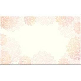 ササガワ SASAGAWA 〔インクジェット〕 カード紙 (名刺サイズ×30枚) レース 16-1636[161636]