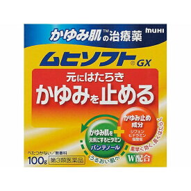 【第3類医薬品】 ムヒソフトGX(100g)【wtmedi】池田模範堂
