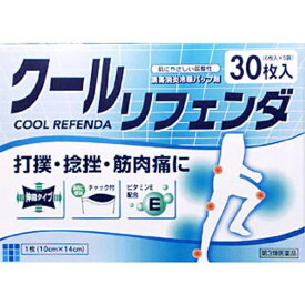 【第3類医薬品】 クールリフェンダ(30枚)【wtmedi】タカミツ TAKAMITSU