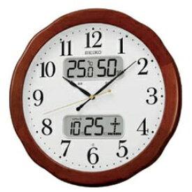 セイコー SEIKO 掛け時計 【スタンダード】 茶木地 KX369B [電波自動受信機能有][KX369B]