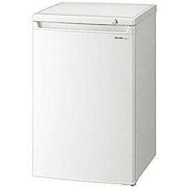 シャープ SHARP 《基本設置料金セット》FJ-HS9X 冷凍庫 ホワイト系 [1ドア /右開きタイプ /86L][FJHS9X]