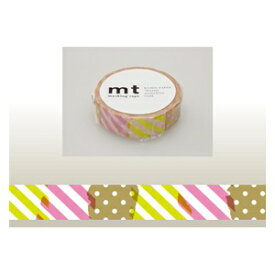 カモ井加工紙 KAMOI mt マスキングテープ(つぎはぎ・I) MT01D173