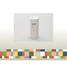 カモ井加工紙 KAMOI mt マスキングテープ・8コセット(モザイク・グレイッシュ) MT08D177