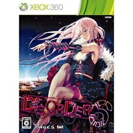 5PB ファイブピービー DISORDER6(ディスオーダー シックス) 限定版【Xbox360ゲームソフト】