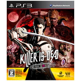 角川ゲームス KADOKAWA GAMES KILLER IS DEAD PREMIUM EDITION【PS3ゲームソフト】