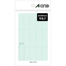 エーワン A-one 透明保護ラベル 透明 08380 [8シート /15面 /光沢]【aoneC2009】