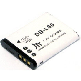 日本トラストテクノロジー JTT MyBattery HQ 互換バッテリー MBH-DB-L80[MBHDBL80]