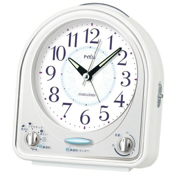 セイコー SEIKO 目覚まし時計 「ピクシス(PYXIS)」 NR435W