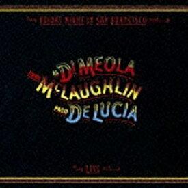 ソニーミュージックマーケティング アル・ディ・メオラ,ジョン・マクラフリン,パコ・デ・ルシア(ac-g/ac-g/ac-g)/フライデイ・ナイト・イン・サンフランシスコ〜スーパー・ギター・トリオ・ライヴ! 【CD】
