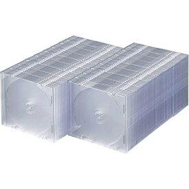 サンワサプライ SANWA SUPPLY Blu-ray/DVD/CD対応スリム収納ケース 1枚収納×100 クリア FCD-PU100C[FCDPU100C]【rb_pcp】