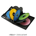 サンワサプライ SANWA SUPPLY DVD/CD対応トールケース 8枚収納×3 ブラック DVD-TW8-03BK[DVDTW803BK]