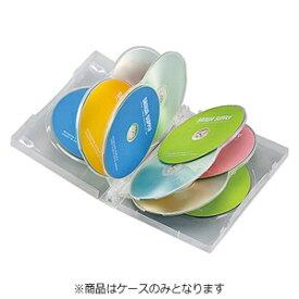 サンワサプライ SANWA SUPPLY DVD/CD対応トールケース 10枚収納×3 クリア DVD-TW10-03C[DVDTW1003C]