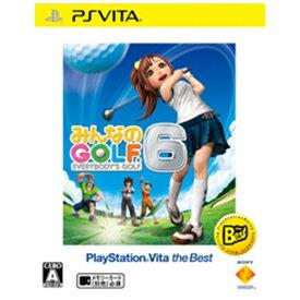 ソニーインタラクティブエンタテインメント Sony Interactive Entertainmen みんなのGOLF 6 PlayStation Vita the Best【PS Vitaゲームソフト】