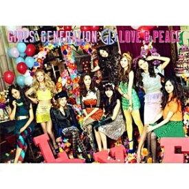 ユニバーサルミュージック 少女時代/LOVE&PEACE Blu-ray付初回限定盤 【CD】