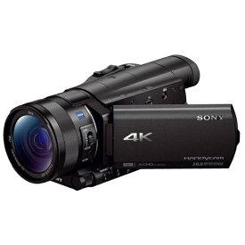 ソニー SONY FDR-AX100 ビデオカメラ [4K対応][FDRAX100BC]