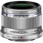 オリンパス OLYMPUS カメラレンズ 25mm F1.8 M.ZUIKO DIGITAL(ズイコーデジタル) シルバー [マイクロフォーサーズ /単焦点レンズ][25MMF1.8シルバー]