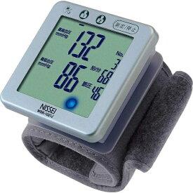 日本精密測器 NISSEI 【ビックカメラグループオリジナル】手くび式デジタル血圧計 WSK-1021J シルバー[WSK1021J]【point_rb】