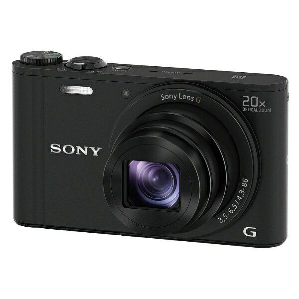【送料無料】 ソニー コンパクトデジタルカメラ Cyber-shot(サイバーショット) DSC-WX350(ブラック)[DSCWX350BC]