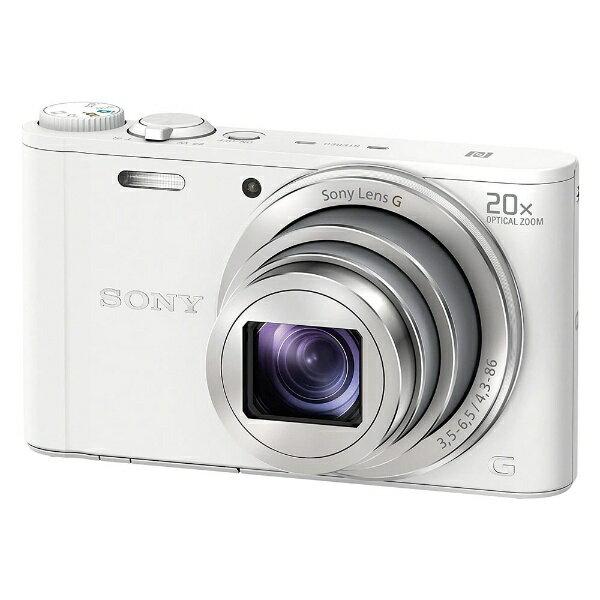 【送料無料】 ソニー SONY DSC-WX350 コンパクトデジタルカメラ Cyber-shot(サイバーショット) ホワイト[DSCWX350WC]
