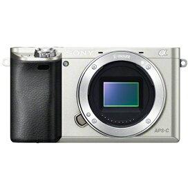 ソニー SONY ILCE-6000-S ミラーレス一眼カメラ α6000 シルバー [ボディ単体][ILCE6000S]