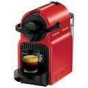 【送料無料】 ネスレネスプレッソ 専用カプセル式コーヒーメーカー 「イニッシア」 C40-RE ルビーレッド[C40RE]
