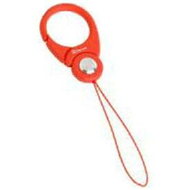 HAMEE ハミィ 〔フィンガーストラップ〕 HandLinker Putto Carabiner カラビナリング携帯ストラップ (オレンジ)[PUTTOカラビナリングOR]