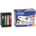 エプソン EPSON IC4CL74 純正プリンターインク ビジネスインクジェット(EPSON) 4色パック[IC4CL74]【wtcomo】
