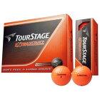 ブリヂストン BRIDGESTONE ゴルフボール EXTRA DISTANCE オレンジ TEOX [12球(1ダース) /ディスタンス系]【オウンネーム非対応】