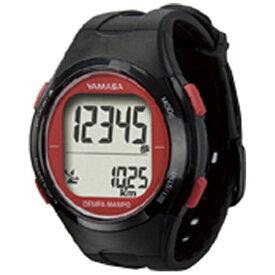 山佐時計計器 YAMASA TM-500-BR 歩数計 ウォッチ万歩計 WATCH MANPO ブラック×レッド [手首式][TM500]