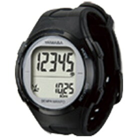 山佐時計計器 YAMASA TM-500-BS 歩数計 ウォッチ万歩計 WATCH MANPO ブラック×シルバー [手首式][TM500]