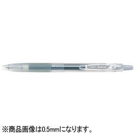 パイロット PILOT [ゲルインキボールペン] ジュース(ボール径:細字0.7mm) グレー LJU-10F-GY[LJU10FGY]
