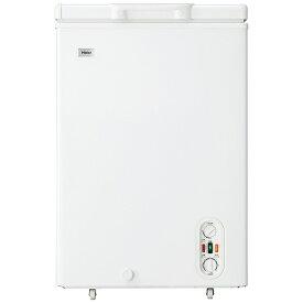 ハイアール Haier 冷凍庫 Live Series ホワイト JF-WNC103F [1ドア /上開き /103L][JFWNC103F]
