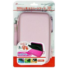 アンサー Answer 3DS LL用 セミハードポーチ3L ピンク 【3DS LL】