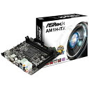 【送料無料】 ASROCK Mini ITXマザーボード [Scoket AM1・DDR3] AM1H-ITX[AM1HITX]