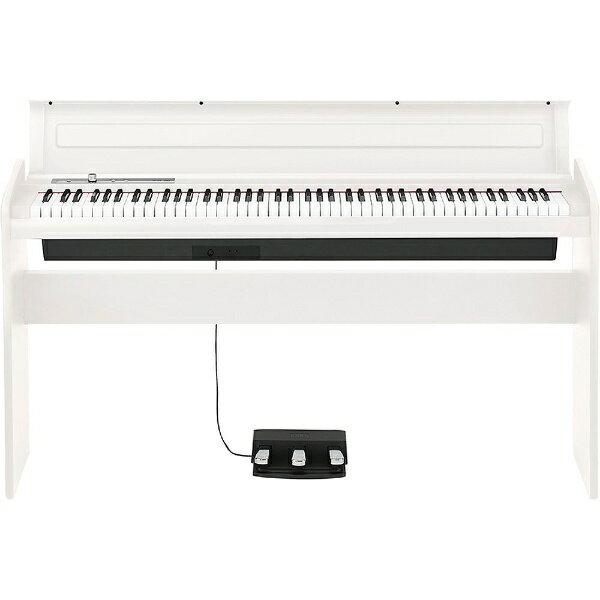 【標準設置費込み】 コルグ(KORG) 電子ピアノ DIGITAL PIANO (88鍵盤/ホワイト) LP-180-WH[LP180WH]