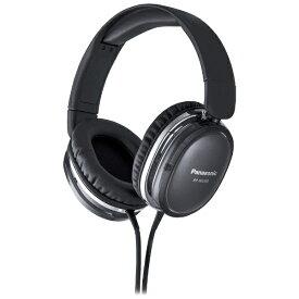 パナソニック Panasonic RP-HX350-K ヘッドホン RP-HX350 ブラック [φ3.5mm ミニプラグ][RPHX350] panasonic