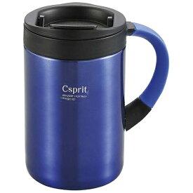 キャプテンスタッグ CAPTAIN STAG シーエスプリ ダブルステンレスマグカップ350(ブルー) M5377