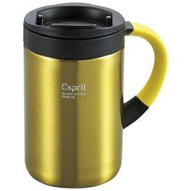 キャプテンスタッグ CAPTAIN STAG シーエスプリ ダブルステンレスマグカップ350(イエロー) M5380