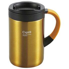 キャプテンスタッグ CAPTAIN STAG シーエスプリ ダブルステンレスマグカップ350(オレンジ) M5381