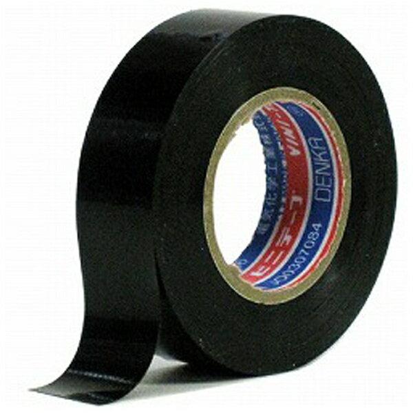 電気化学工業 ビニールテープ19×10M/BK #10119X10MBK ブラック