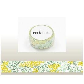 カモ井加工紙 KAMOI mt マスキングテープ mt fabフロッキー(菜の花) MTFL1P03