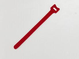 トラスコ中山 マジックケーブルタイ 幅16mmX長さ210mm赤 TRMGT210R (1袋20本)