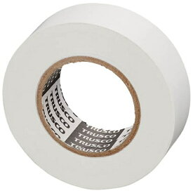 トラスコ中山 脱鉛タイプビニールテープ 19mmX10m 10巻入り ホワイト GJ2110