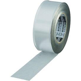 トラスコ中山 スーパーアルミ箔粘着テープ 100mm×50m ツヤなし TRAT1002