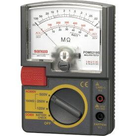 三和電気計器 アナログ絶縁抵抗計 500V/250V/125V PDM5219S