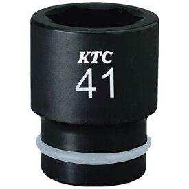 京都機械工具 KYOTO TOOL 19.0sq.インパクトレンチ用ソケット(標準)ピン・リング付41mm BP641P